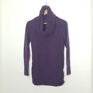Calvin Klein Jeans | Knit Cowl Neck Purple Sweater